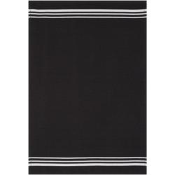 stuco Geschirrtuch Waffel, farbig, (Set, 3-tlg) schwarz