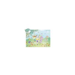 DJECO Puzzle Formen-Puzzle Blumenfee, 36 Teile, Puzzleteile