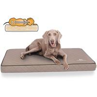 Knuffelwuff Tierbett Hundematte Juna orthopädisch Grau 66 cm x 110 cm
