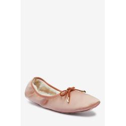 Next Ballerinas aus Satin Ballerina rosa 38