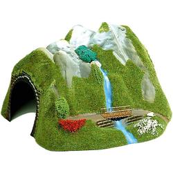 Tunnel mit Wasserfall H0
