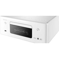 Denon RCD-N11DAB Audio-Receiver (Bluetooth, LAN (Ethernet), WLAN) weiß