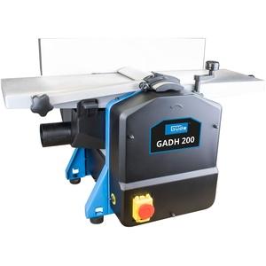 Güde 55440 Abricht- & Dickenhobel GADH 200 (Abrichttische aus Alu-Druckguss, Hobelwellenschutz, Überlastschalter), Blau