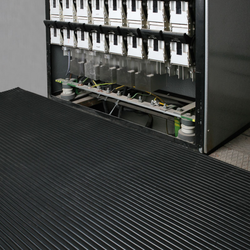 Elektroisolier-fußbodenbelag, 1,3 x 5 m