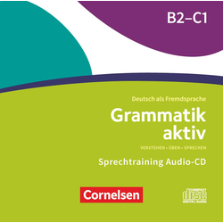 Grammatik aktiv B2/C1 - Audio-CDs zur Übungsgrammatik