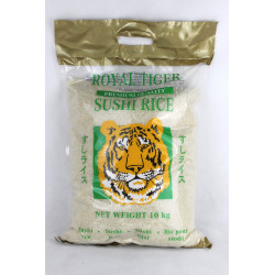 1kg/10kg Royal Tiger Premium Sushi Reis, 10kg