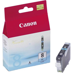 Canon Tintenpatrone CLI-8PC Original Photo Cyan 0624B001 Druckerpatrone