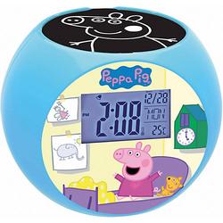 Peppa Pig Projektor-Radiowecker rosa/blau