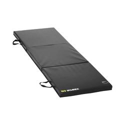 Gymrex Weichbodenmatte - 180 x 60 x 5 cm - faltbar - schwarz GR-FM 18