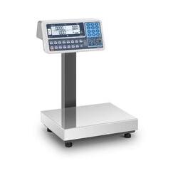 TEM Preisrechenwaage Kontrollwaage Ladenwaage Marktwaage 120 kg Dual LCD