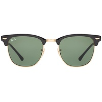 RB3716 shiny black-gold / classic green