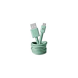FRESH 'N REBEL Fabriq USB auf Micro-USB Kabel 1 5m  Misty Mint