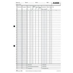 Kassenbuch EDV A4 2x50 Blatt