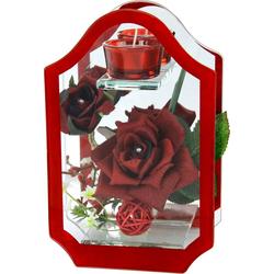 Kunstblume Rose, I.GE.A., Höhe 14 cm