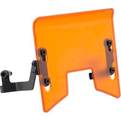 Rizoma Windschild Polycarbonat ZKT008E orange für KTM Duke 7