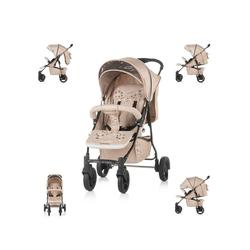 Chipolino Kinder-Buggy Chipolino Kinderwagen Buggy Mixie, klappbar, schwenkbare Vorderräder, Sonnendach natur