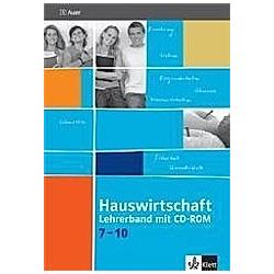 Hauswirtschaft 7-10: 6 Hauswirtschaft 7-10  m. 1 CD-ROM - Buch