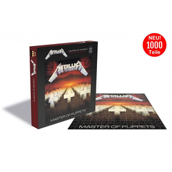 empireposter Puzzle Metallica Master Of Puppets - 1000 Teile LP Cover Puzzle im Format 57x57 cm, 1000 Puzzleteile