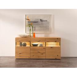 GWINNER Sideboard ANZIO HOLZ 142, Breite 195 cm