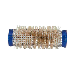Mex pro Hair Borstenwickler Ø 21 mm Draht Blau (12 Stück)