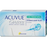 Acuvue Oasys for Presbyopia 6 St. / 8.40 BC / 14.30 DIA / -5.50 DPT / High ADD