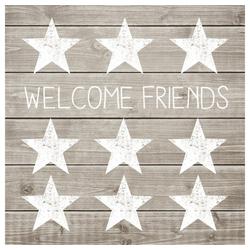 PPD Papierserviette Welcome Friends 20 Stück 33 cm