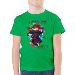 Shirtracer T-Shirt Cooler Ninja Junge 2021 - Einschulung und Schulanfang - Jungen Kinder T-Shirt - T-Shirts geschenke zur einschulung junge 164 (14/15 Jahre)