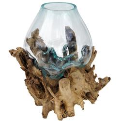 Guru-Shop Dekovase Wurzelholz Vase - XXL M9 54 cm x 51 cm x 45 cm