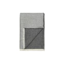Elvang Venice Decke Wolldecke 130x200 cm Alpaka Wolle weiß grau