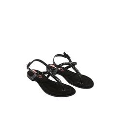Zehentrenner-Sandalen Damen Größe: 37