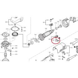 Kohlebürsten Kohlen Motorkohlen für Metabo W 8-115 Winkelschleifer