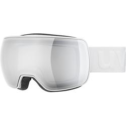 Uvex Skibrille Skibrille compact LM white dl/mirror silver