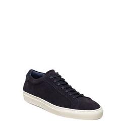 Les Deux Calle Suede Shoe Niedrige Sneaker Blau LES DEUX Blau 43,42,41,45,44,40