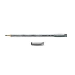 2 FABER-CASTELL Radiergummis GRIP 2001 Eraser CAP