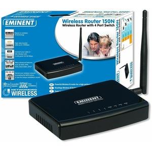 Eminent EM4553 Wireless Router 150N WEP WPA WPA2 WDS PPTP VPN