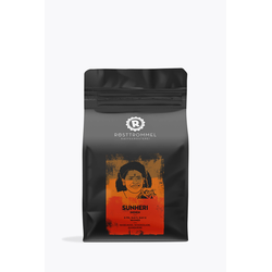 Rösttrommel Kaffeerösterei Indien Sunheri 250g