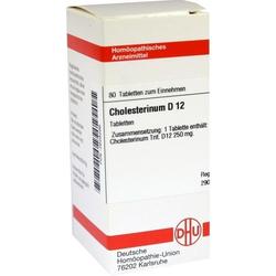 CHOLESTERINUM D12