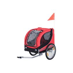 PawHut Fahrradhundeanhänger Fahrradanhänger für Hunde