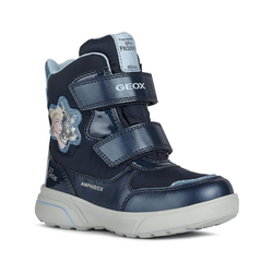 Geox Stiefeletten für Mädchen Stiefelette blau 30