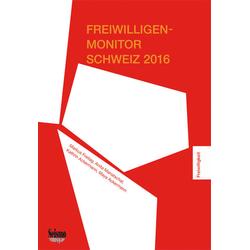 Freiwilligen-Monitor Schweiz 2016 als Buch von