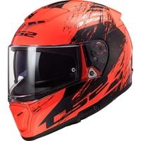 Swat Helm Schwarz, Orange M