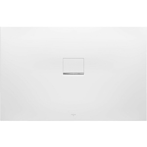 Villeroy & Boch Duschwanne Squaro Infinity 140 × 90 × 4 cm Quaryl® zuschneidbar