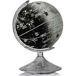 COSTWAY Nachttischlampe pädagogischer Tisch-Globus mit Sternbildern