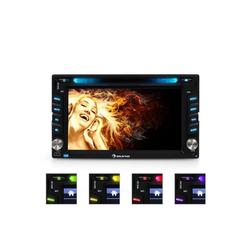 Auna MVD-480 Moniceiver DVD CD MP3 USB SD HD 6,2'' Touchscreen Bluetooth Autoradio