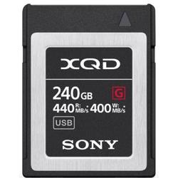 Sony QDG240F XQD-Karte G-Serie 240GB 400MB/s.