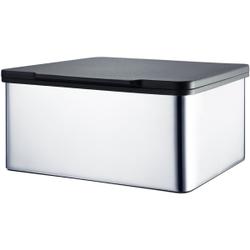 Blomus MENOTO Feuchttücherbox , Aus hochwertigem Edelstahl, Edelstahl poliert, Kunststoff