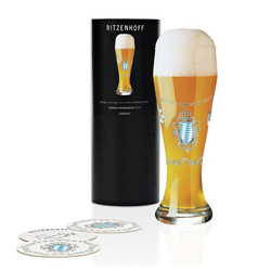 Ritzenhoff Bierglas Weizen Sandra Brandhofer 645 ml, Kristallglas
