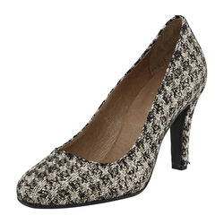 Pumps mit edlem Muster