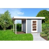 weka Designhaus 172 A 3,85 x 2,40 m grau inkl. Anbau
