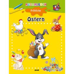 Ausmalbuch Ostern: Buch von